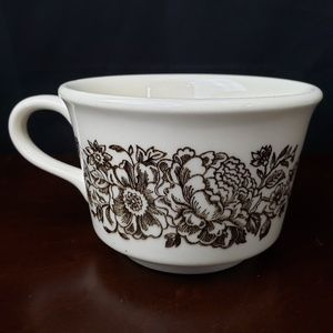 VTG Royal China Sussex Ironstone Floral Coffee Cup
